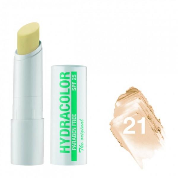 Hydracolor Stift N 21 farblos nude Lippenpflege Paraben Free SPF 25