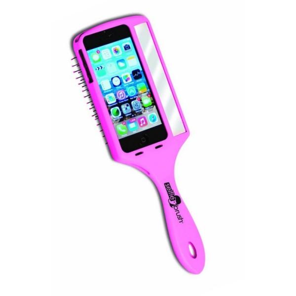 Bürste Wet Brush Selfie Brush rosa für IPhone 5 oder 5S  EX