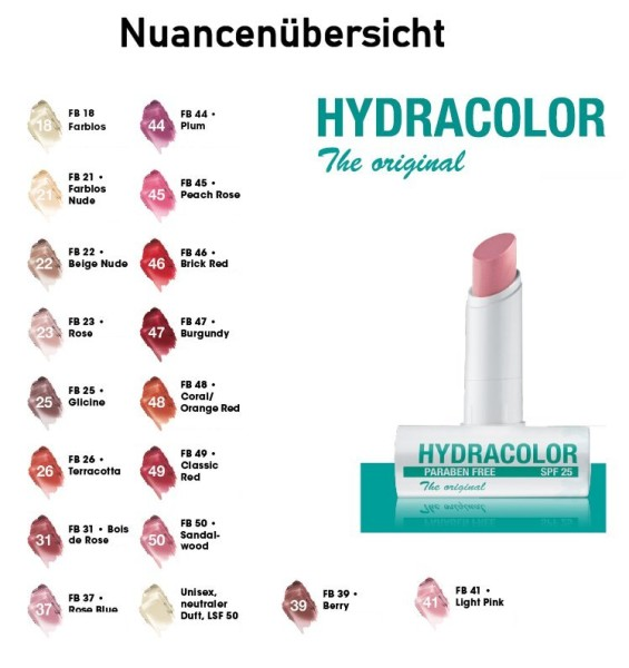 Hydracolor Lippenflege Nudec rose - Deborah