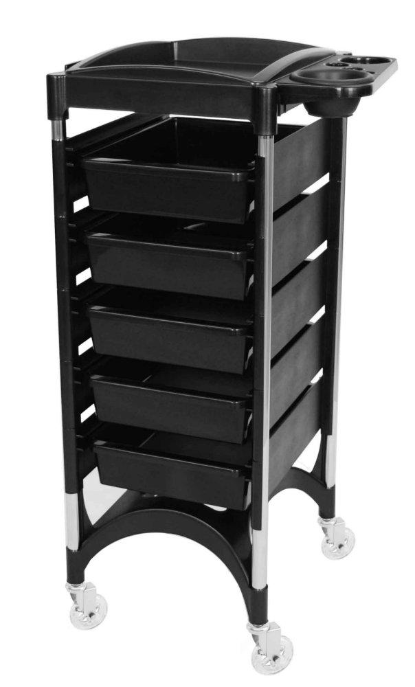 Verbazingwekkend Piccolo Rondo Bologna schwarz Friseurwagen Arbeitswagen QA-05