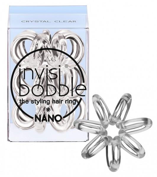 Invisibobble Nano crystal clear 3er Box