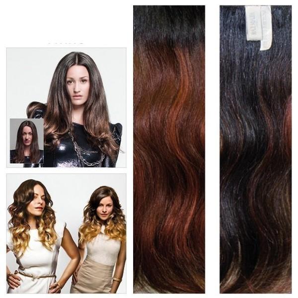 Hair Dress Haarverlängerung 40cm Barcelona * 100% Echthaar