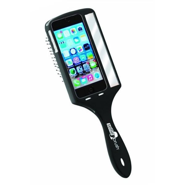 Bürste Wet Brush Selfie Brush schwarz für IPhone 5 oder 5S  EX