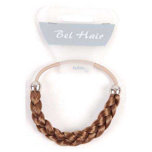 Bel Hair Zopfabbinder MARIA geflochten 4 hellbraun