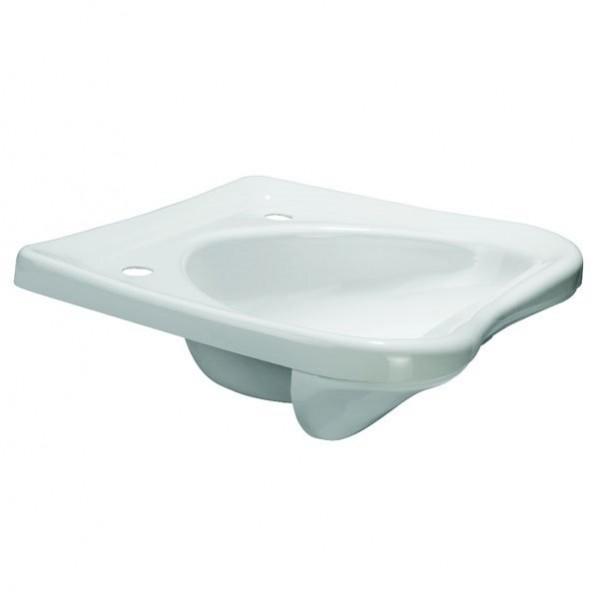 Vorwärtseinbauwaschbecken Kunststoff weiß Friseursalon *